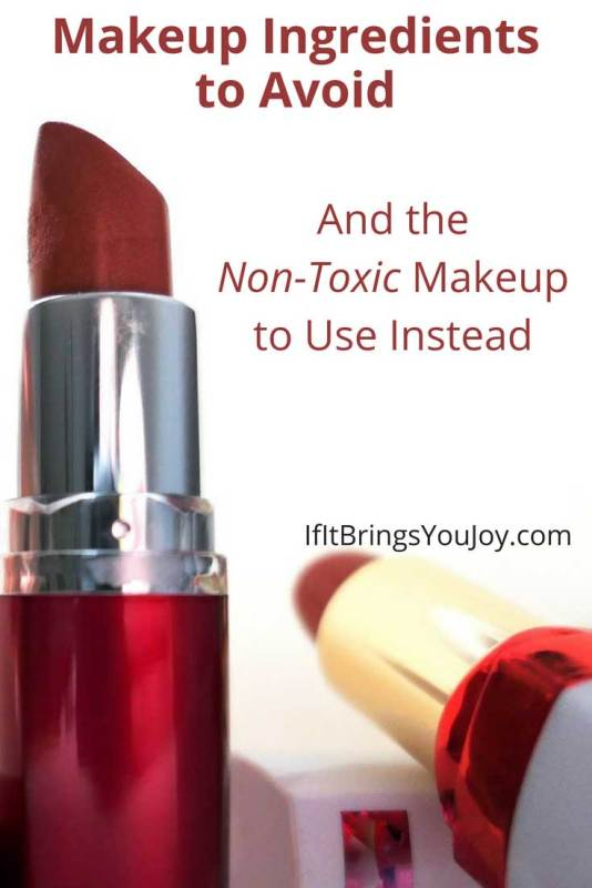 Learn about ingredients that may harm your body, and the non-toxic makeup options that you may want to consider.