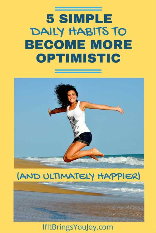 Research has proven that optimistic people are happier. Learn how to increase optimism & positive thinking.
