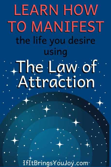 The universe manifesting for you