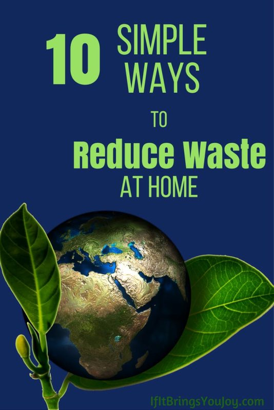 Simple things you can do to reduce waste in your home. No crazy lifestyle changes required!