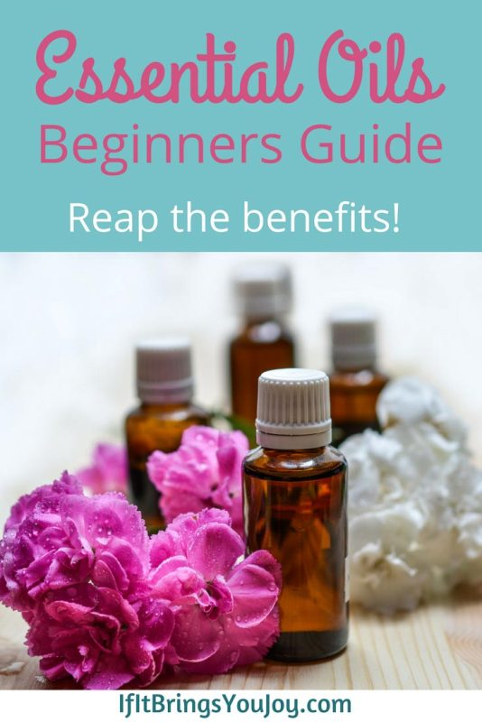 Beginner's guide to essential oils. Reap the benefits!