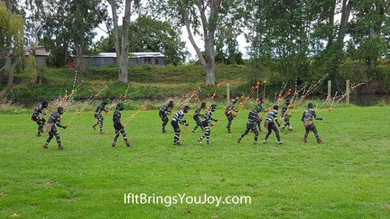 Vanuatu Islanders holiday celebration