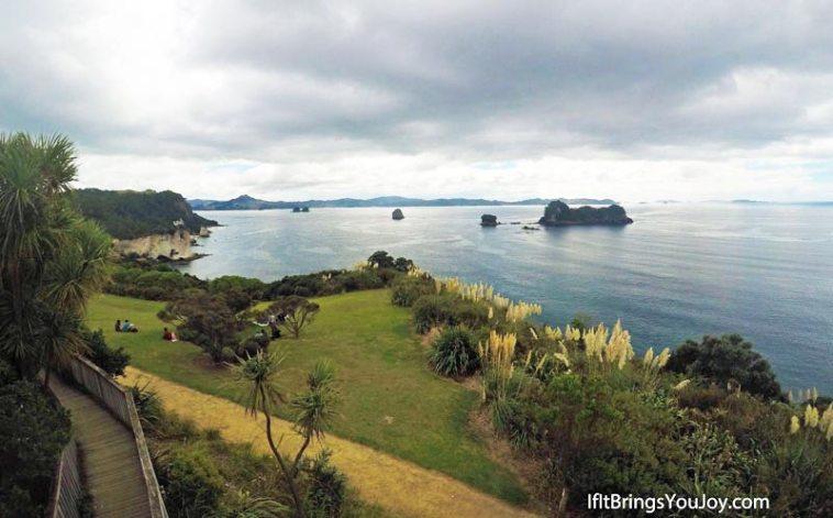 Coastal view in Coramandel, New Zealand