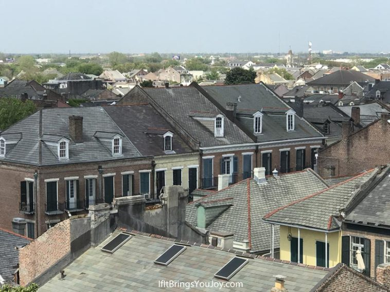 Aerial view in New Orleans