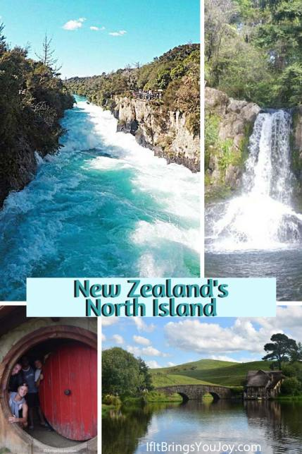 Four beautiful locations in the North Island of New Zealand