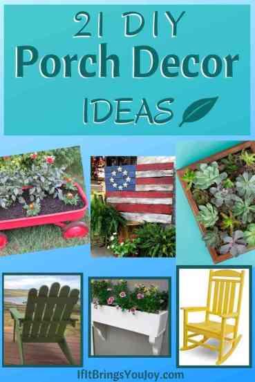 DIY Porch Decor Ideas