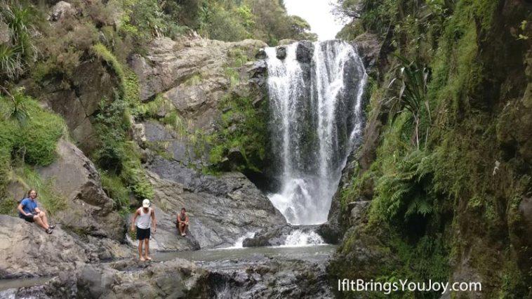 Gorgeous waterfall in Whangarei, New Zealand