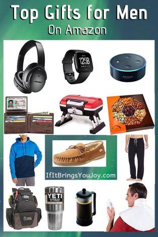 Top gift ideas for men on Amazon