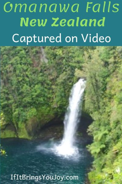 A dangerous steep hike through jungle-like terrain is described as well worth it. Omanawa Falls in New Zealand is one of nature's gems. Experience Omanawa Falls via video including being under the waterfall. #OmanawaFalls #NewZealand #waterfall #nature