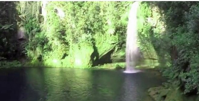 Omanawa Falls, New Zealand Captured on Video