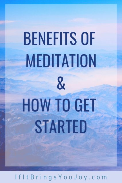 Benefits of meditation and how to get started