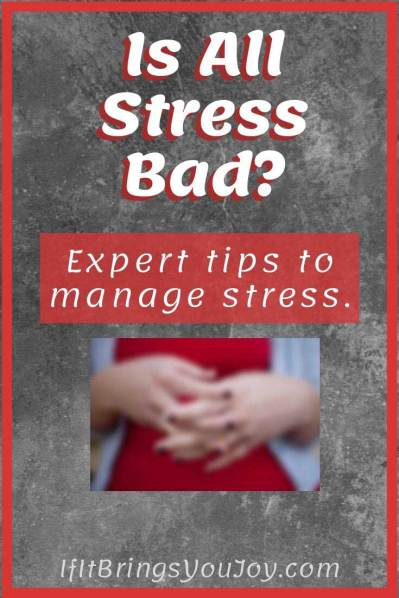 Hands with stress symptoms