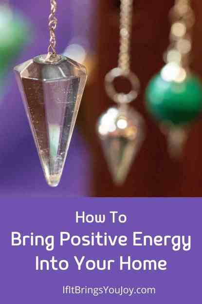 Crystals with positive energy in the home