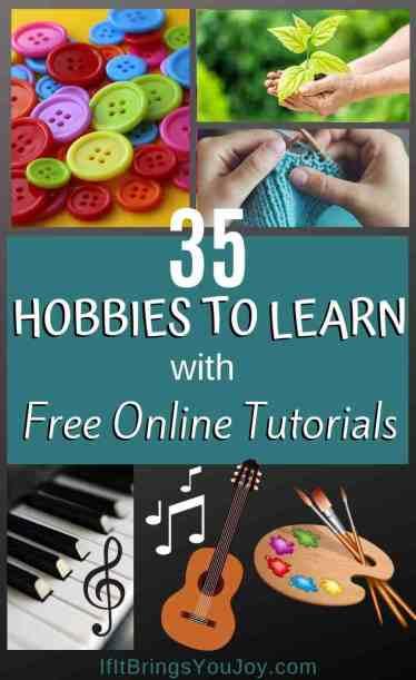 Various hobbies