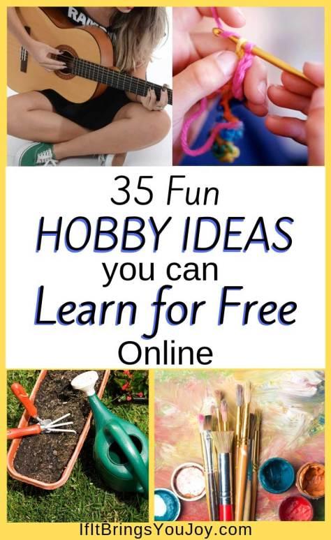 Hobby ideas
