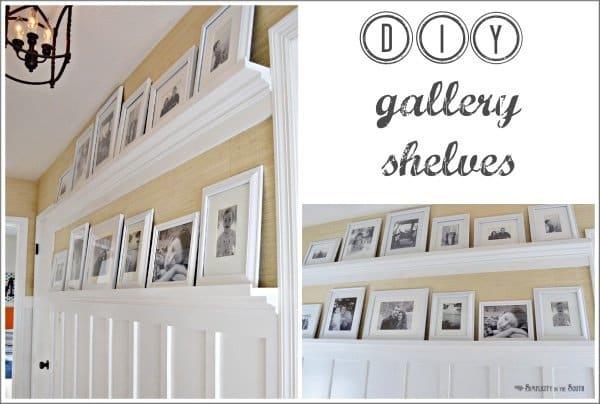 Custom made shelves