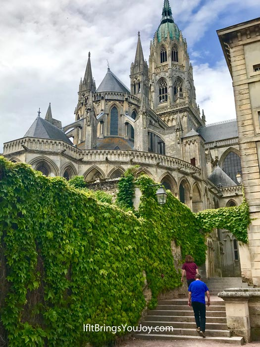 Notre Dame Cathedral of Bayeux, France