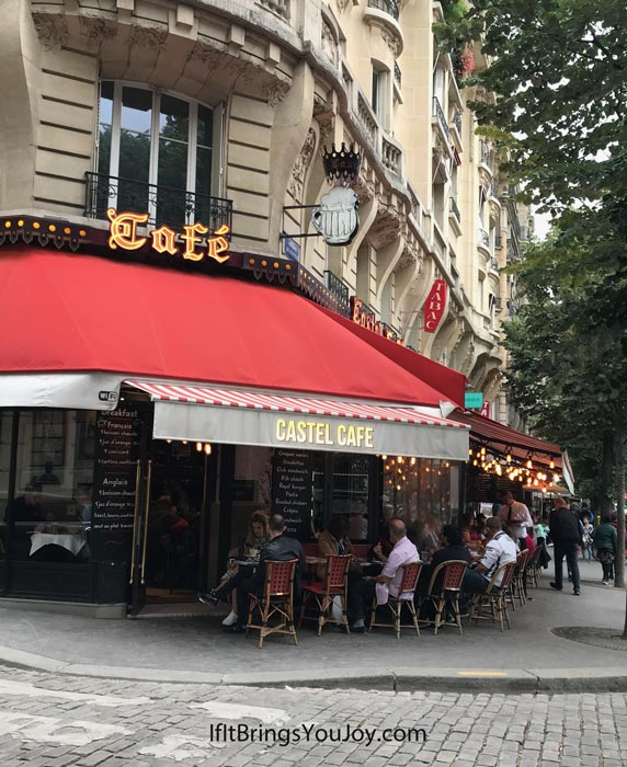 Cafe in Paris, France
