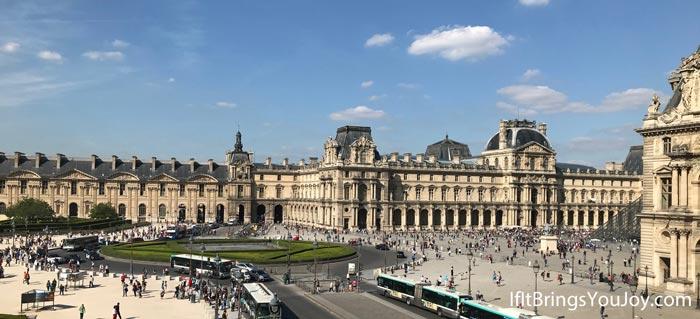 Louvre Museum building