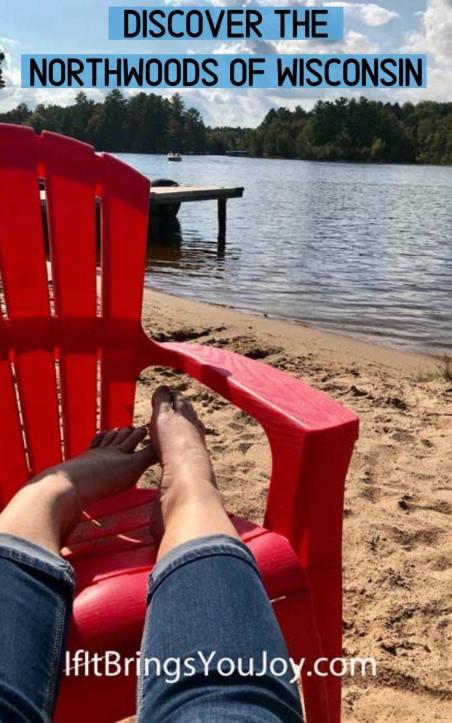 Feet up relaxing by the lake