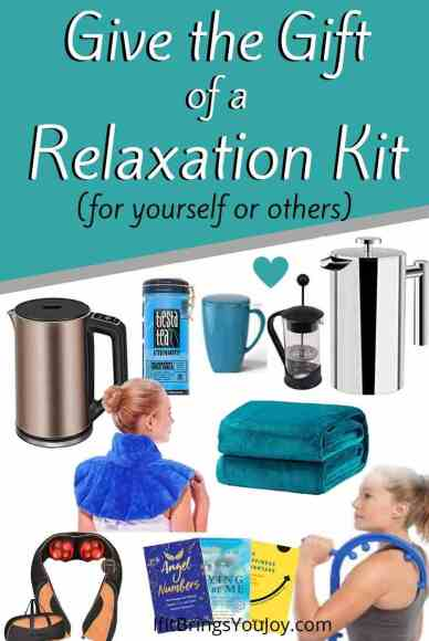 Gifts for a relaxation kit