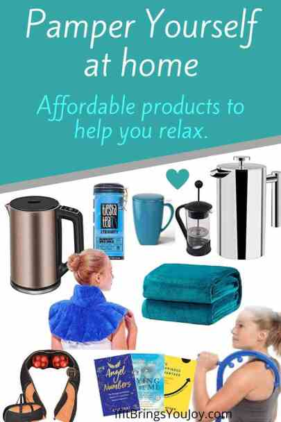 Products for at-home pampering
