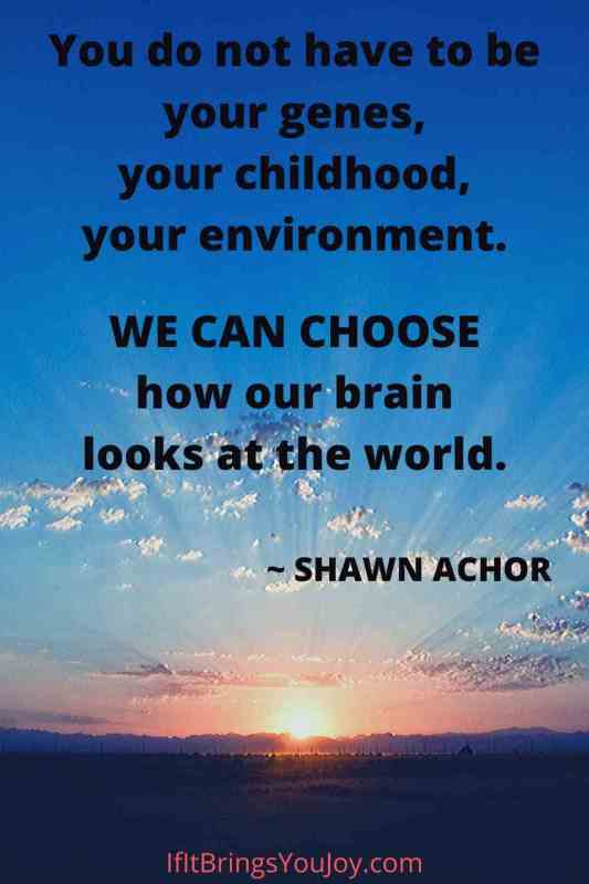 Motivational quote by Shawn Achor