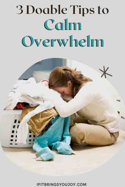 Overwhelmed woman