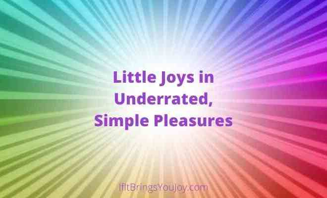 Finding Little Joys in Life – Even When You Don't Feel Happy