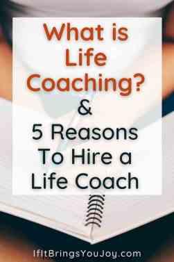 Lady journaling as part of life coaching