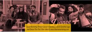 cause marketing-star plus breast cancer awareness-sumit sambhal lega and dance plus pink film-www.ifiweremarketing.com