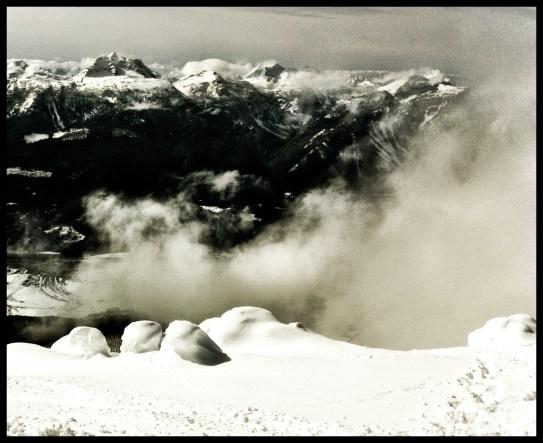 View of Revelstoke from Sub Peak