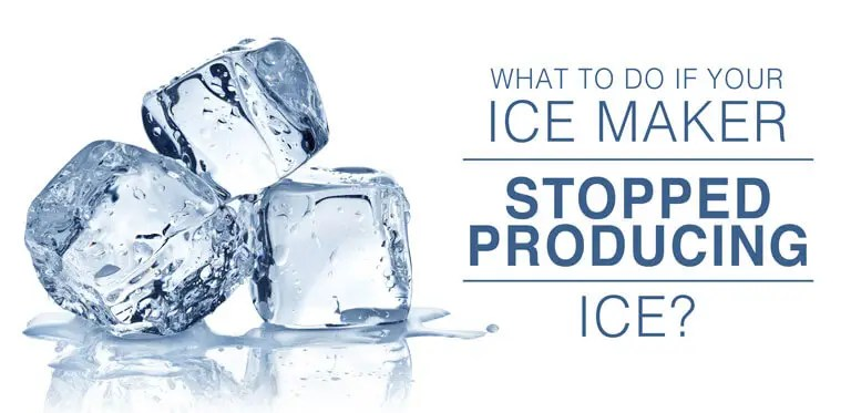 Ice maker not producing ice