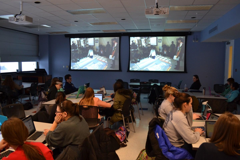 education building room 22