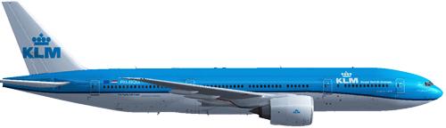 Resultado de imagen para KLM Boeing 777 png