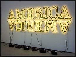 Double America 2 by Glenn Ligon
