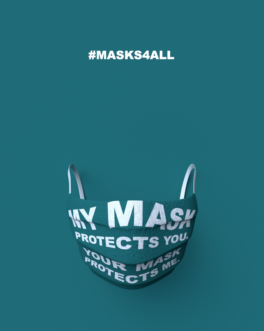 Masks4all Poster 13 by Trago Studio