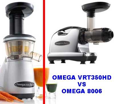 Omega VRT350HD vs Omega 8006