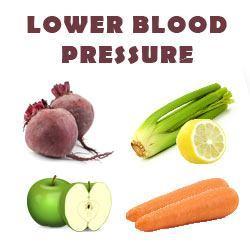 celery juice to lower blood pressure