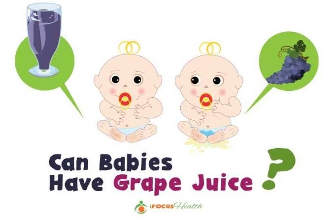 grape juice for babies