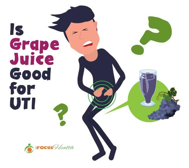 grape juice for uti