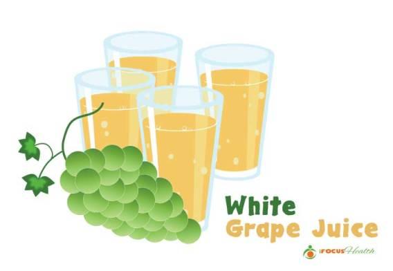white grape juice health benefits