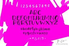 tswift-font-showing-f