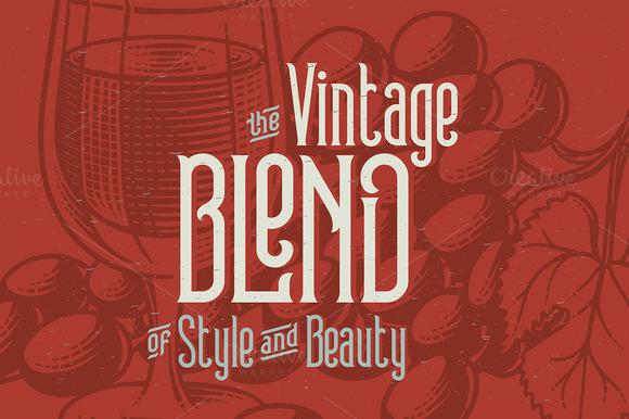Winery typeface + bonus