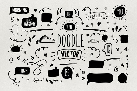 Chamberline & Doodle Vector