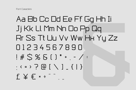 Epicoff Typeface