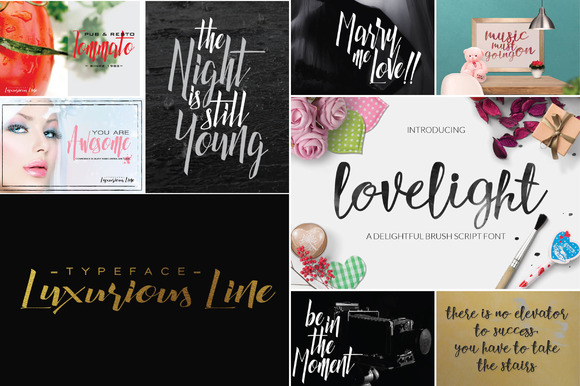 Font Graphic Bundle