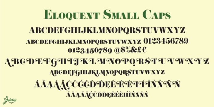 Eloquent JF Pro Font Family