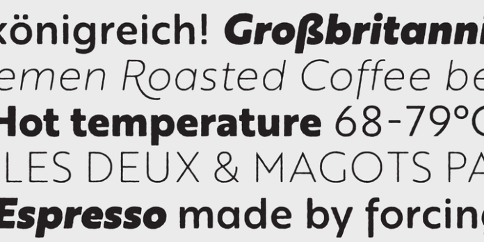 Brother 1816 Font Family