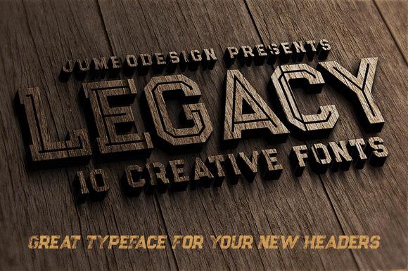 Legacy - Vintage Style Font